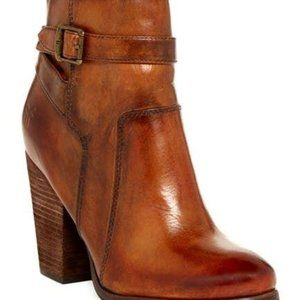 Frye Size 11M 'Patty' Camel Brown Riding Bootie